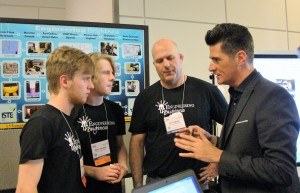 Anthony Salcito visits Engineering Brightness at ISTE Denver