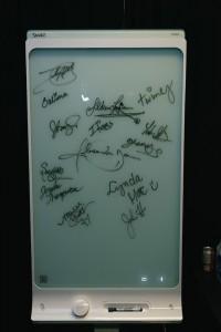 signatures behind scenes